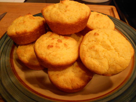 Finished and Baked Muffins - Delicious!