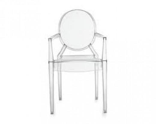 A Lucite Chair