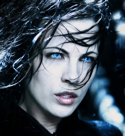 "Kate Beckinsale, Selene in ""Underworld"""