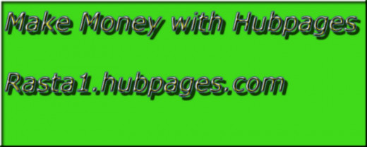 My first graphic design for Hubpages (smile)