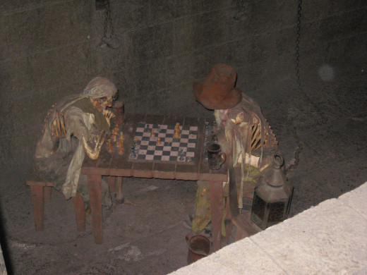 Inside the Pirate's of The Caribbean ride