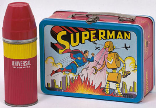 1954 Superman Lunch Box