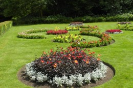 Summer bedding at Townley Park