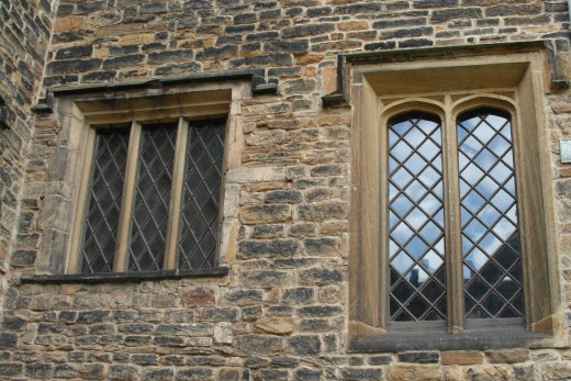 Windows in Townley Hall