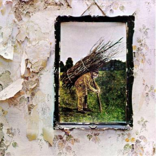 The cover of Led Zeppelin's fourth album- featured in this Hub.