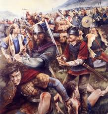 Slave raid - anyone who put up a fight could part with his life. Troublemakers would not make good slaves