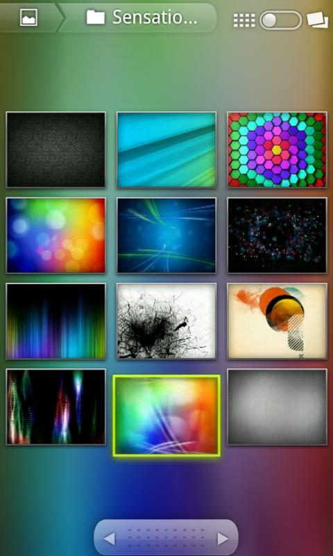 Screenshot of AOSP 3D Gallery
