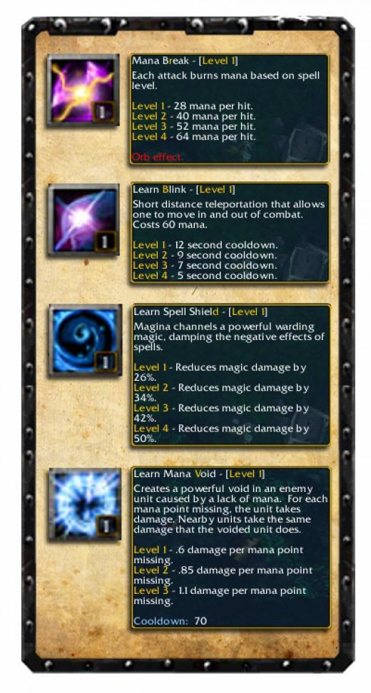 Anti-Mage Skill Set