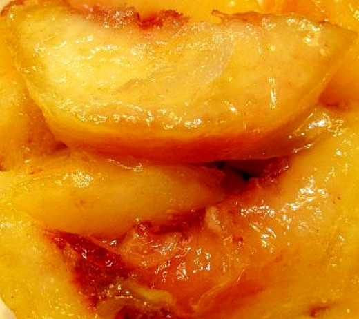 Freezing Peach Slices in Syrup