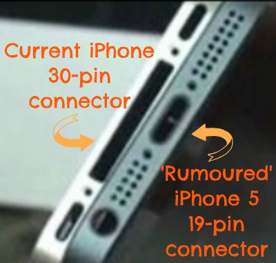 Prior to Apple Unveiling The iPhone - The Rumor about 30-pin connector vs 19-pin connector