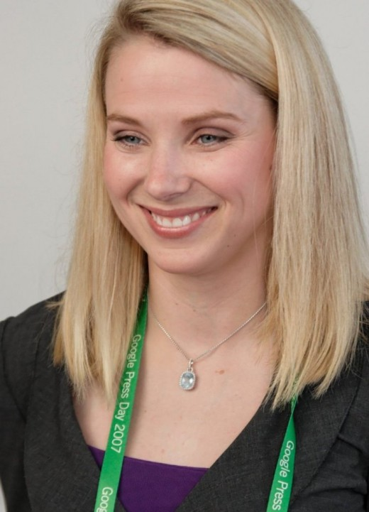 Marissa Mayer is an inspiration for women around the world. At just 37, she is the youngest CEO of a Fortune 500 company. Truly inspirational stuff!