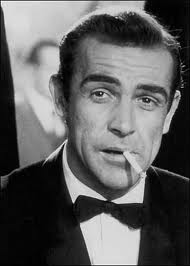 James Bond from the movie.