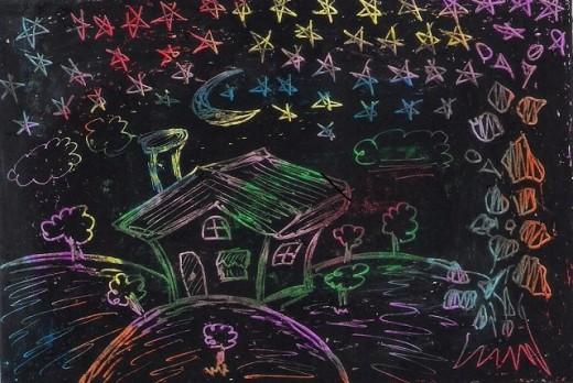 Scratch Art Activity for Kids