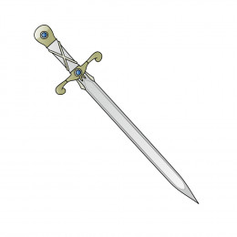 A sword was a tool used for fighting battles. In a battle, a sword can kill many individuals with few swings but a peace message written by a few stokes of pen can make kingdoms amicable and can save lot of blood shed.