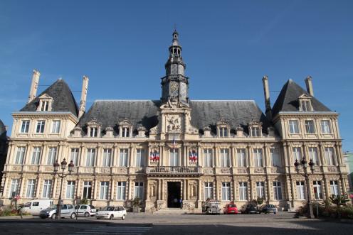 Hotel de ville in Reims