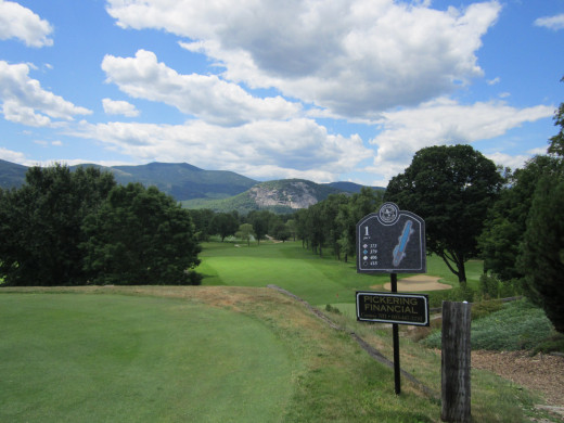 You haven't been golfing until you have spent a day at North Conway Country Club! With Mountain Views and Vistas, a Railroad that runs through the course, this is perhaps the most beautiful golf course in New England!