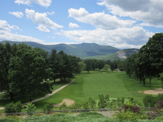 Beautiful Fairways with Beautiful Views at North Conway Country Club.