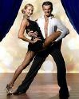Stacy Keibler & Tony Dovolani