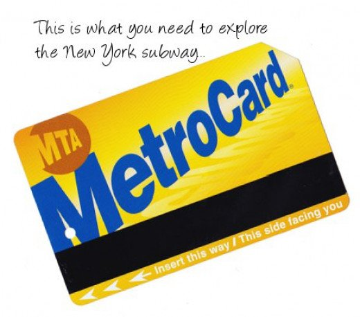 This may look like generic picture of a Metro Card - but it's not! It's mine.