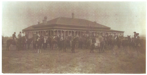 Horses were ever present at Guisachan.  Paddy Cameron began the first creation of the Kelowna Riding Club...even donated land.