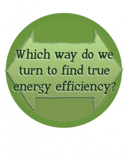 Efficient energy use is up to us.