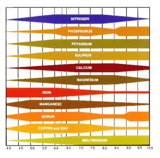ph Nutrient Chart