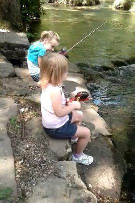 The Great Fishing Trip and Catch of the Day by teh 6 year old