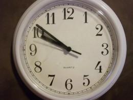 Time is tickin...