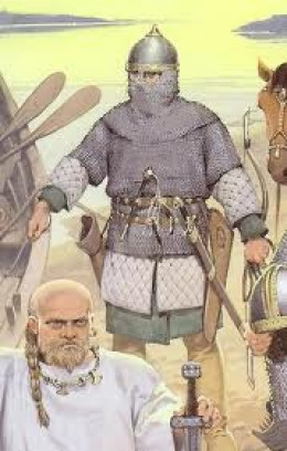 Slavonic warriors displayed a new form of 'dress sense' and influenced the incoming Scandinavians. Eventually, through adoption of new customs the Norsemen would hardly be recognisable as such...