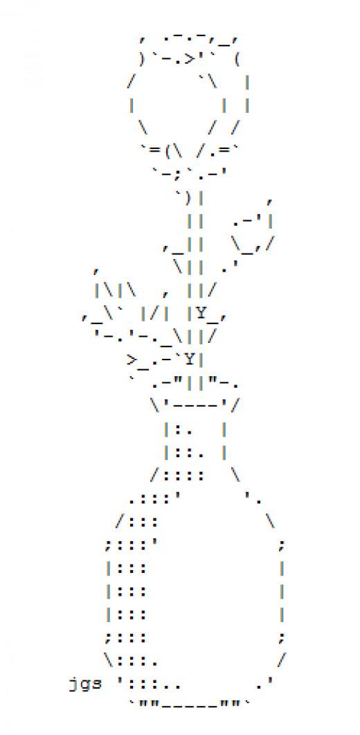 One Line Ascii Art Twitch : Ascii art flower small wroc awski informator internetowy