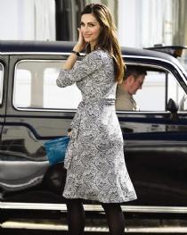 Silk Jersey Printed Dress  Price: $308.00