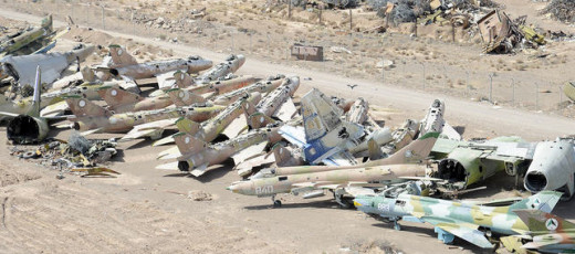 Russian junk aircraft