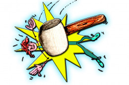 When the symptoms of botulism do show up, it's like being hit by a giant cartoon sized hammer!