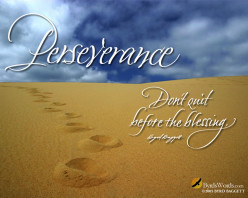 Perseverance - Rise Up Don't Give Up