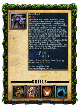 Lone Druid Profile