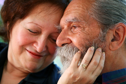 Follow my advice and it's possible that you'll be with the love of your life 'till you grow old!  Awww how cute!