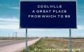 Coolville: grammar matters here.