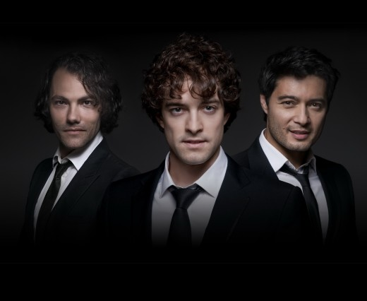 The West End Men: Matt Rawle, Lee Mead, and Stephen Rahman-Hughes