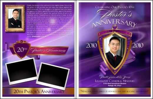 Pastor Anniversary Annual Celebration