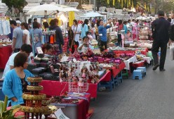 Thailand Travel: Chiang Mai's Walking Street Market