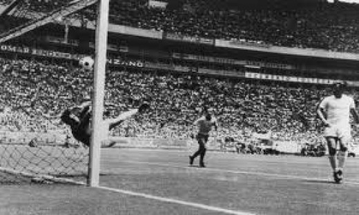 Gordon Banks Great Save Against Brazil