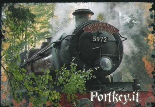 Hogwarts Express train from Harry Potter