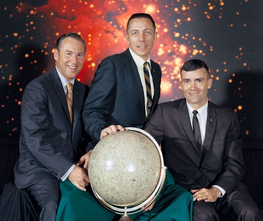 Speaking of Apollo 13...These are the Men who took Action...to make it Home safely. Though alot of smart minds were working through all the problems they faced...back on Earth. These were the guys who had to put it all into Action!