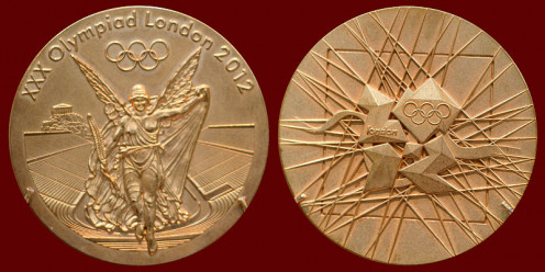 2012 Summer Olympic Games Gold Medal