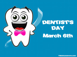 Dentists' day sign Surely, good dentists will be present