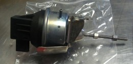 A turbo actuator for a non-BRM code TDI engine