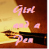 a girl and a pen profile image