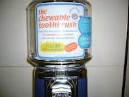 Chewable Toothbrush Vending Machines