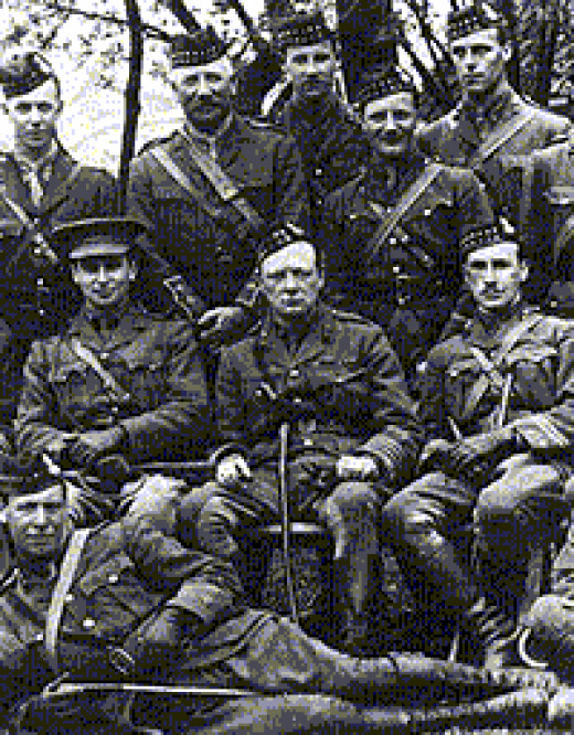Royal Scots Fusiliers, WW1 (Winston Churchill centre)