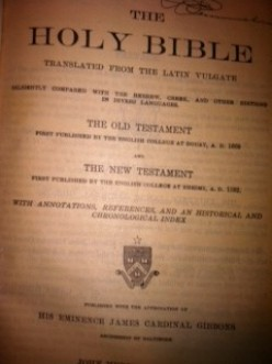 Should Bibles be copyrighted? NO.  Significant alteration? That is wrong.